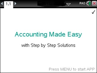 ▷Step by Step Apps ✅ for the TI-Nspire CX & CX CAS - Free