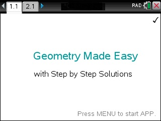 Geometry Made Easy