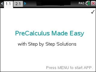 Precalculus Made Easy